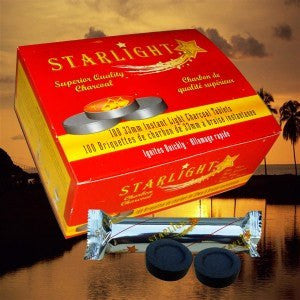 Starlight Hookah Charcoal - Puffer Cloud | The World's Best Online Smoke and Head Shop