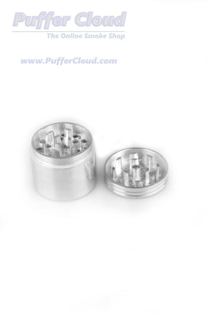 4pc Metal Grinder - 40mm - Puffer Cloud | The World's Best Online Smoke and Head Shop