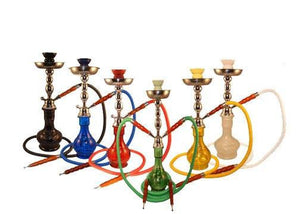 "17"" Hookah w/ 2 Hoses - Puffer Cloud 
