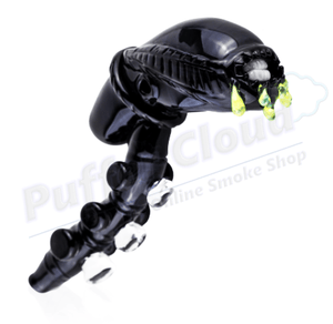Alien Sherlock Pipe By Empire Glassworks - Puffer Cloud | The Online Smoke Shop