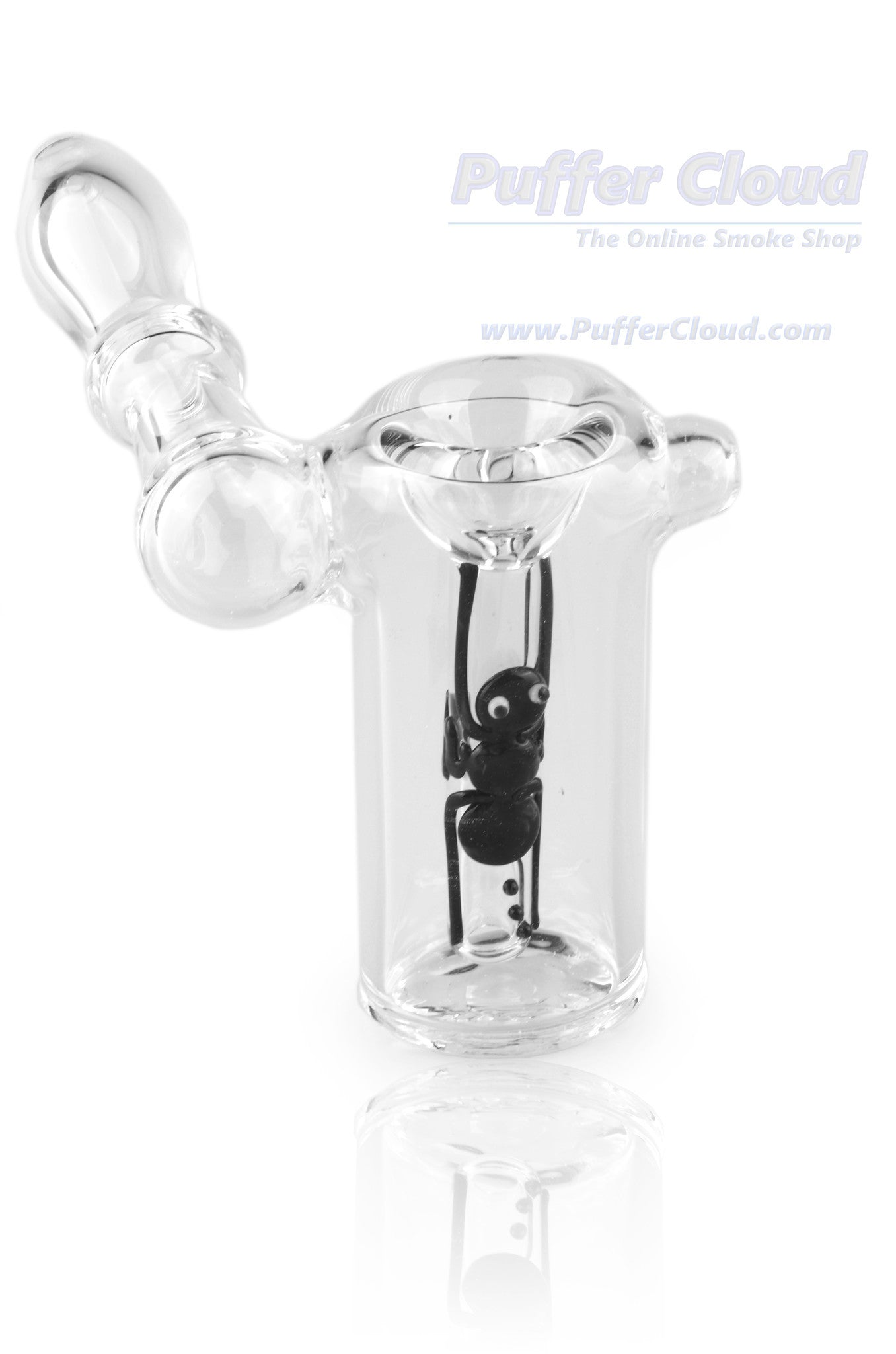 Sidecar Bubbler With Ant Insect Downstem By MathematixWater PipeMathematix Glass - Puffer Cloud | The Online Smoke Shop