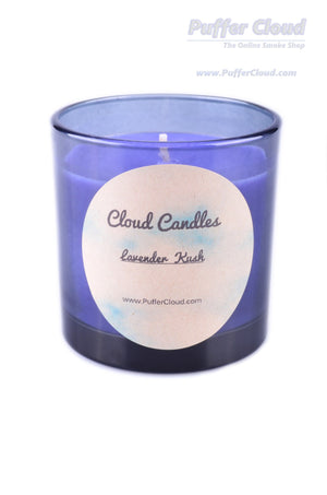 8 oz Lavender Kush Soy Candle - Puffer Cloud | The World's Best Online Smoke and Head Shop