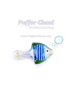 "3"" Fishy ChillumHand PipePuffer Cloud - Puffer Cloud 