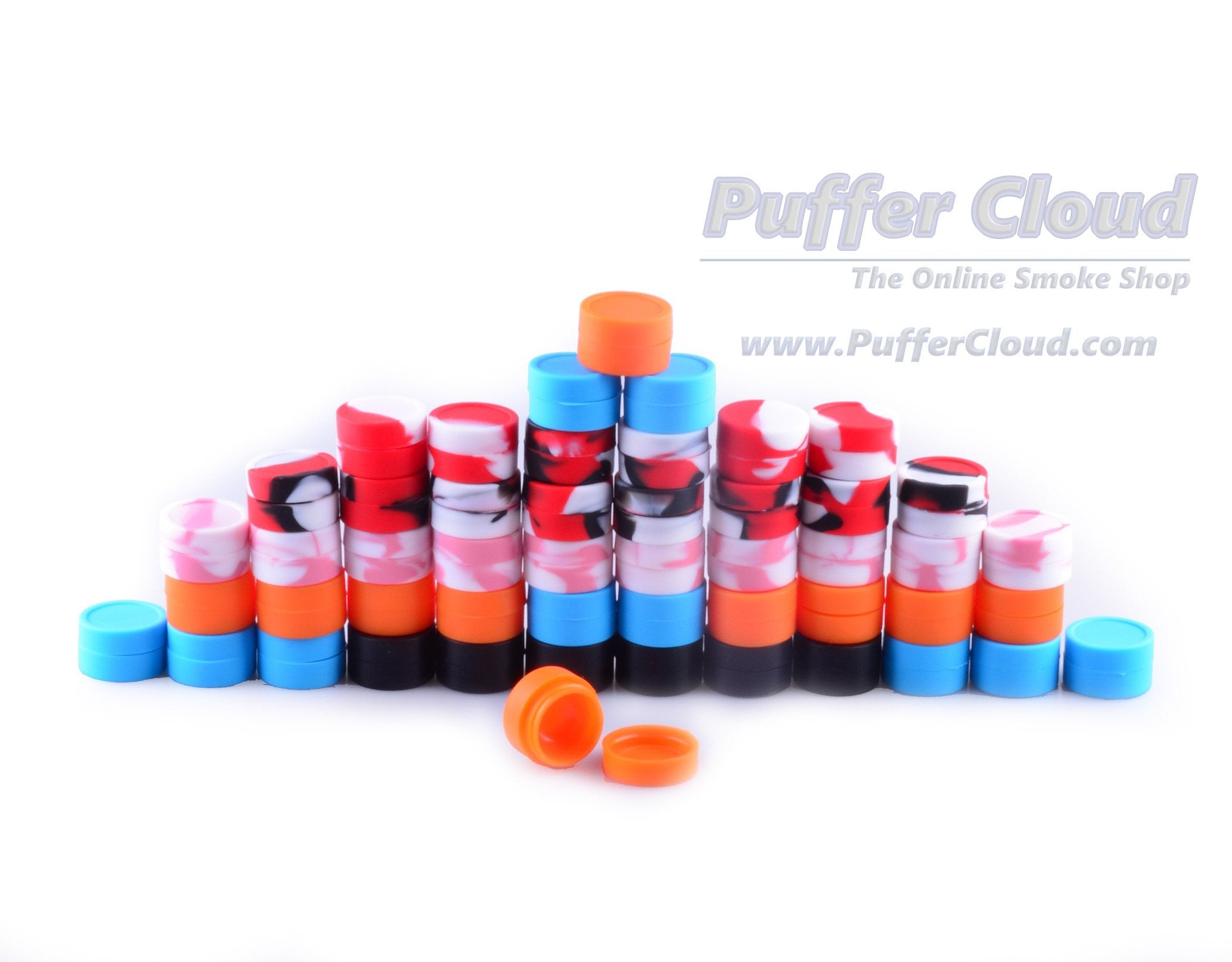 Soft Silicone Nonstick Dab Jar (5ml) - Puffer Cloud | The World's Best Online Smoke and Head Shop