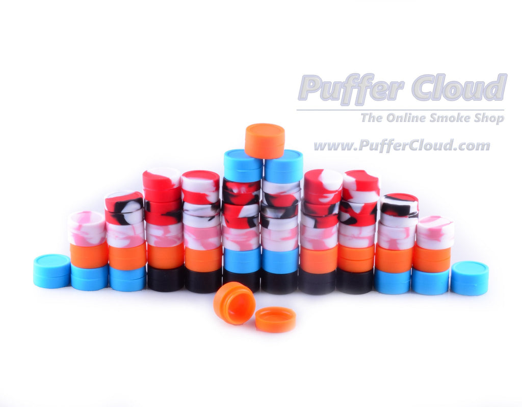 Soft Silicone Nonstick Dab Jar (5ml) - Puffer Cloud | The Online Smoke Shop