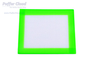 "5.5"" x 4.5""  Nonstick Silicone Dab Mat - Puffer Cloud 