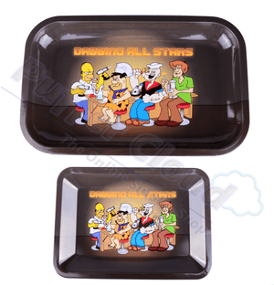 Dabbing All Stars Rolling Tray - Puffer Cloud | The Online Smoke Shop