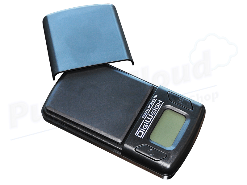 Mini Pocket Scale By DigiWeigh - Puffer Cloud | The Online Smoke Shop