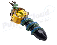 Dragonball Z Themed Hand Pipe By Empire GlassworksHand PipeEmpire Glassworks - Puffer Cloud | The Online Smoke Shop