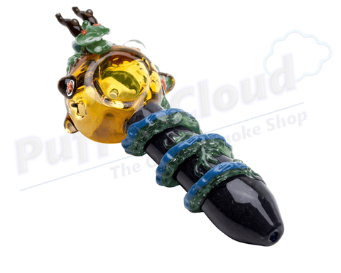 Dragonball Z Themed Hand Pipe By Empire Glassworks - Puffer Cloud | The Online Smoke Shop