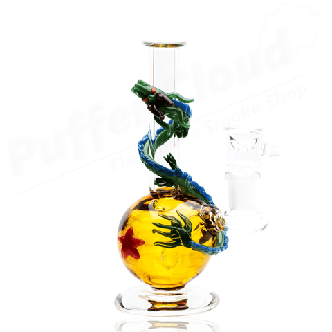 Dragonball Z Themed Mini Rig Water Pipe By Empire Glassworks - Puffer Cloud | The Online Smoke Shop