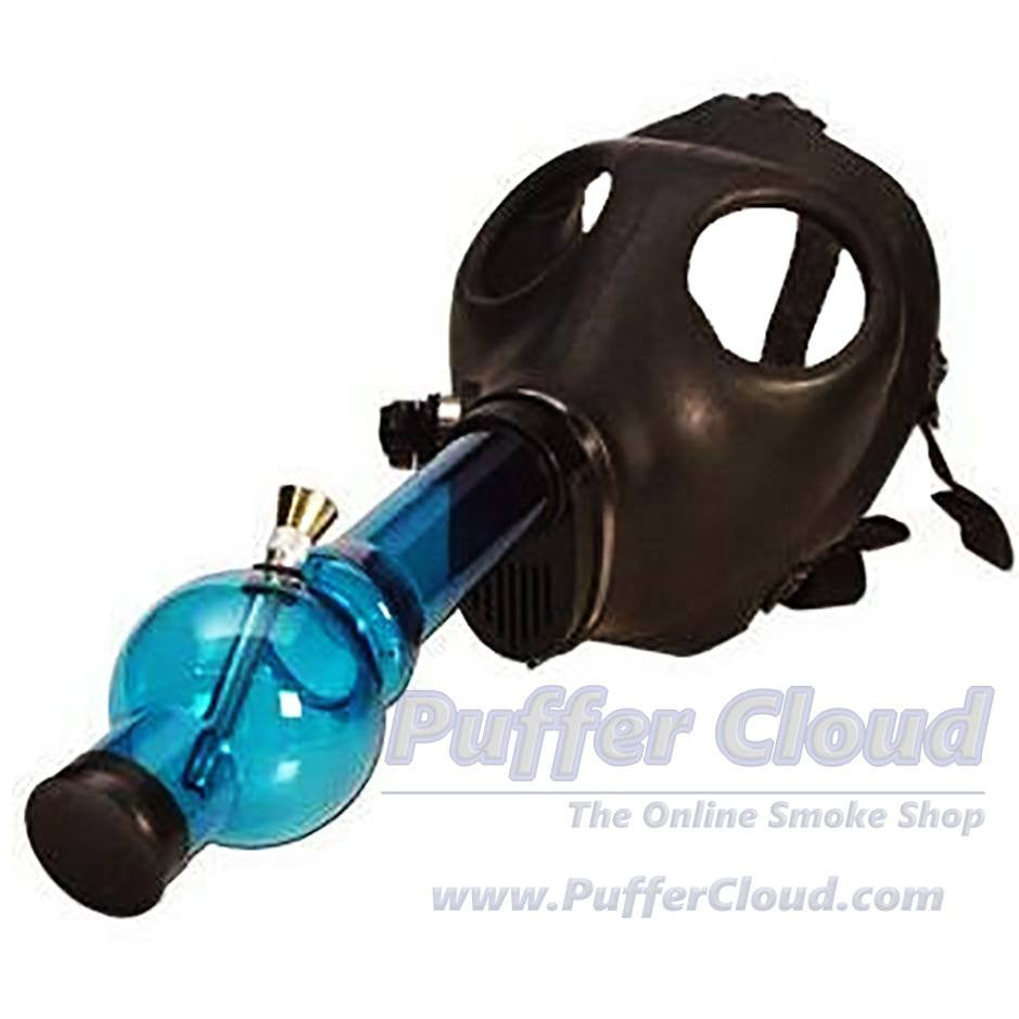 Gas Mask Water Pipe - Puffer Cloud | The World's Best Online Smoke and Head Shop