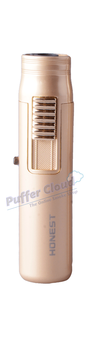 Honest BC520 Windproof Torch LighterAccessorieHonestGold - Puffer Cloud | The Online Smoke Shop