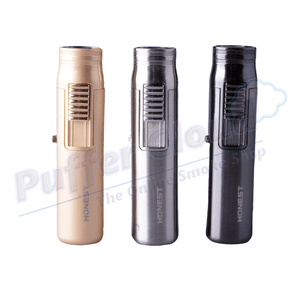Honest BC520 Windproof Torch Lighter - Puffer Cloud | The Online Smoke Shop