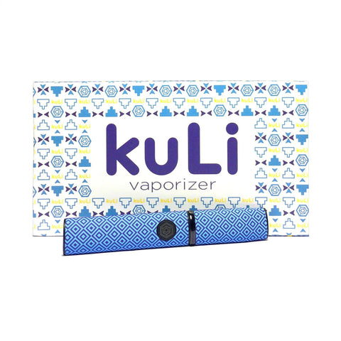 kuLi Wax Vape Kit - Blue - Puffer Cloud | The Online Smoke Shop