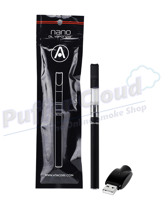 Nano Liquid & Oil Vaporizer Kit w/ Automatic Battery By Atmos - Puffer Cloud | The World's Best Online Smoke and Head Shop