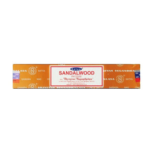 Satya Sandalwood 15g Incense - 12 Sticks - Puffer Cloud | The Online Smoke Shop
