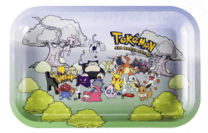 Tokémon 420 Party Edition Rolling Tray - Puffer Cloud | The Online Smoke Shop