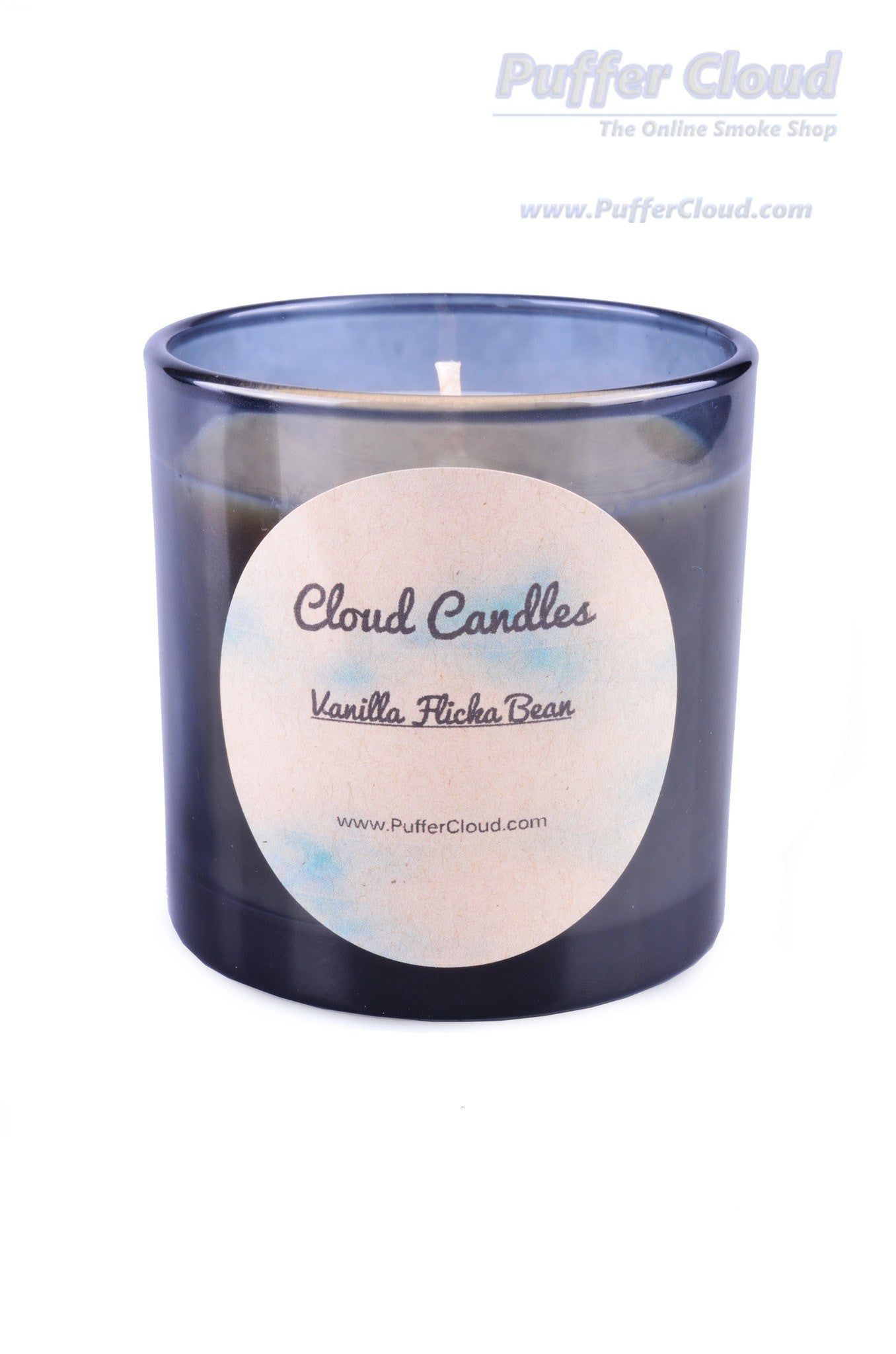 8 oz Vanilla Flicka Bean Soy Candle - Puffer Cloud | The Online Smoke Shop