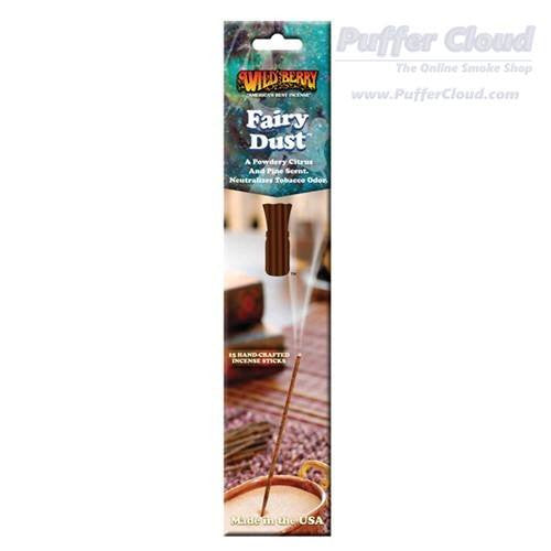 Fairy Dust Incense Sticks By Wild Berry - 15 Pack - Puffer Cloud | The Online Smoke Shop