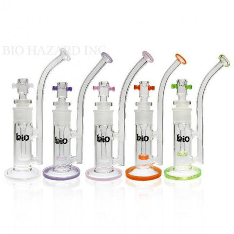 "11"" Bio Spectrum Removable Downstem Bubbler - Puffer Cloud 