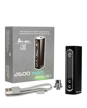Atmos i30 30W Box Mod w/ 2600mAh Battery - Puffer Cloud | The Online Smoke Shop