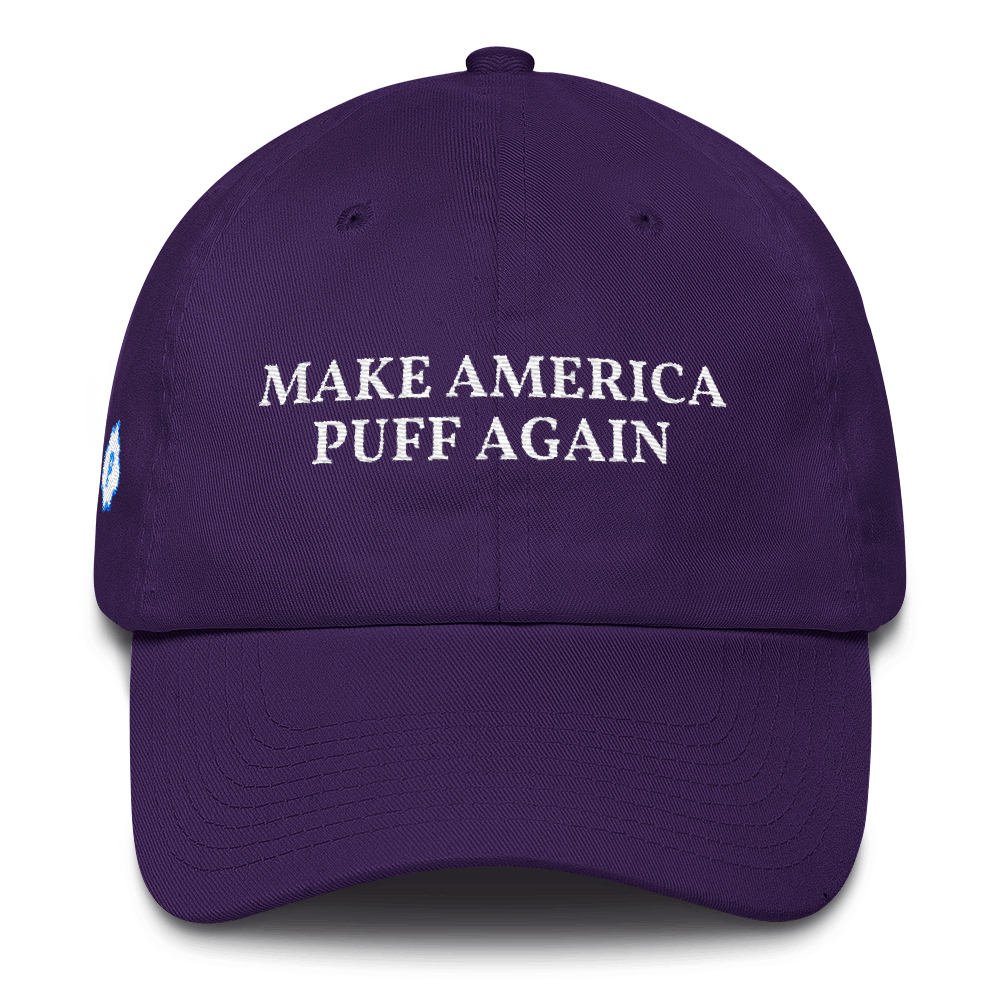 Make America Puff Again Baseball Hat - Puffer Cloud | The World's Best Online Smoke and Head Shop