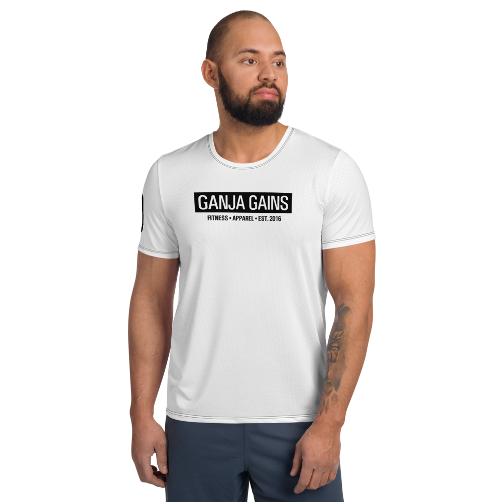 Ganja Gains Anabolic Muscle Building T-Shirt
