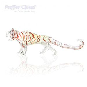 "12"" Tiger PipeHand PipeBio Hazard Glass - Puffer Cloud 