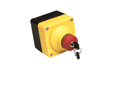 Emergency Stop Push Button with Lockout