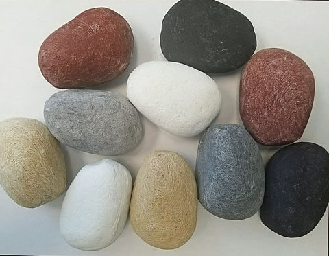 Ceramic Fire Stones Set of 15 Stones -  - Fire On Glass
