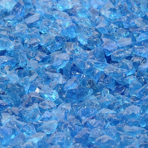 Paradise Blue per pound - Recycled Glass - Fire On Glass