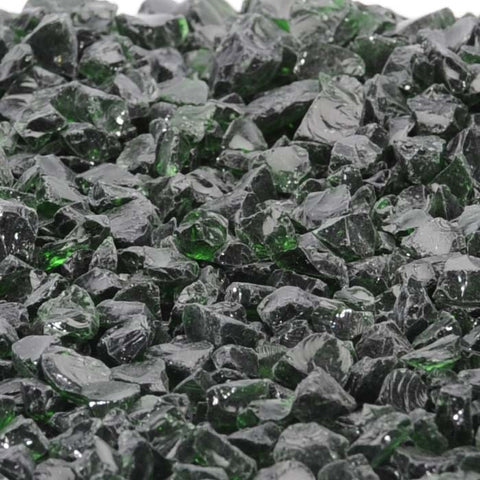 Ponderosa Green per pound - Recycled Glass - Fire On Glass