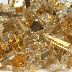 Metallic Fireglass Crystals