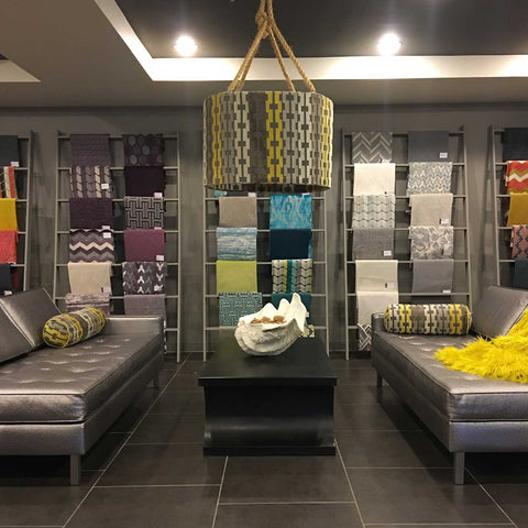 Top Fabric Showroom with Beautiful Luxury Upholstery Fabric