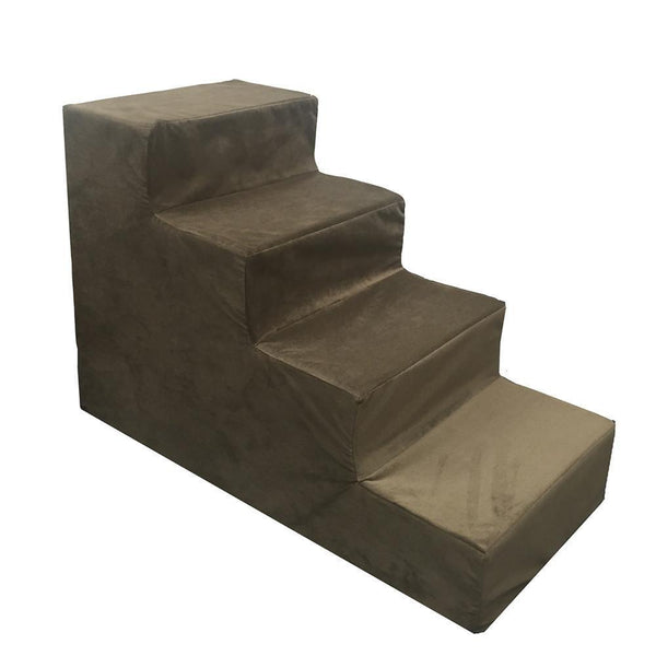 4 Step Foam Dog Stairs -  - Top Fabric