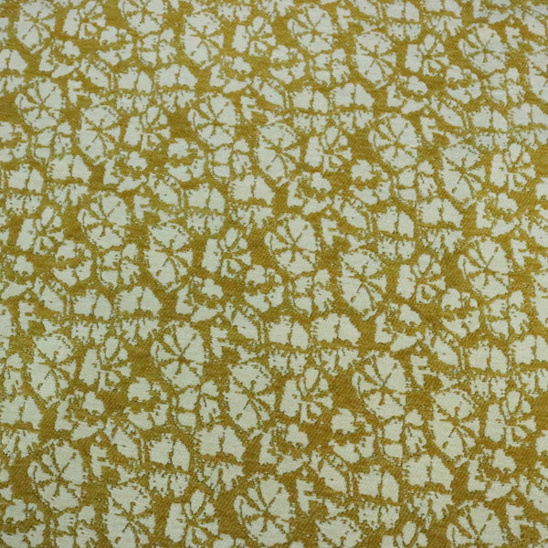Amy - Flower Theme Chenille Jacquard Upholstery Fabric by the Yard