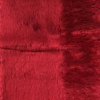 Angel - Long Pile Velvet Fabric by the Yard - Available in 15 Colors - Chinese Red - Top Fabric - 4