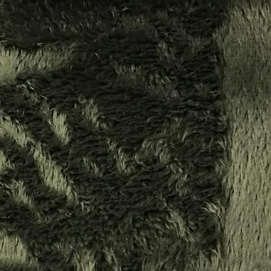 Angel - Long Pile Velvet Fabric by the Yard - Available in 15 Colors - Olive - Top Fabric - 6