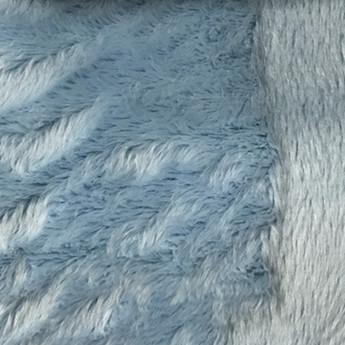 Angel - Long Pile Velvet Fabric by the Yard - Available in 15 Colors - Sky Blue - Top Fabric - 14