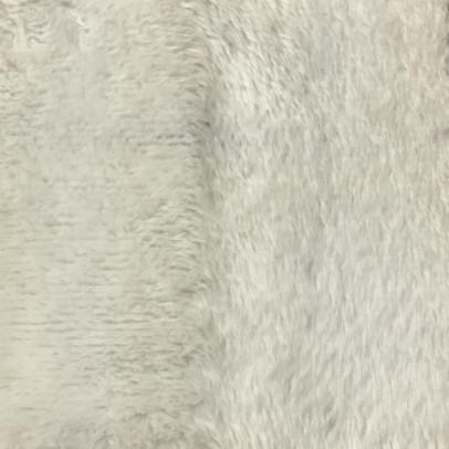 Angel - Long Pile Velvet Fabric by the Yard - Available in 15 Colors - White - Top Fabric - 15