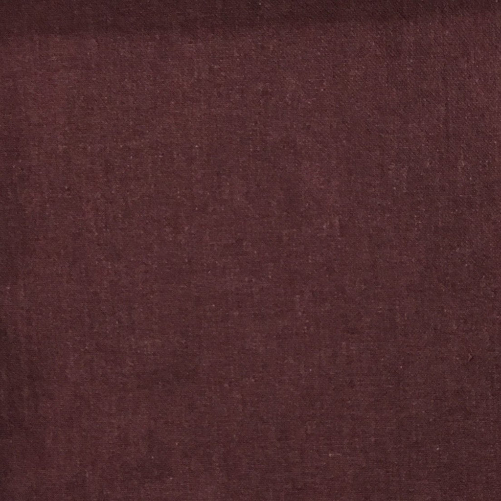 Aston - Cotton Polyester Blend Upholstery Fabric by the Yard - Available in 17 Colors - Beet - Top Fabric - 2
