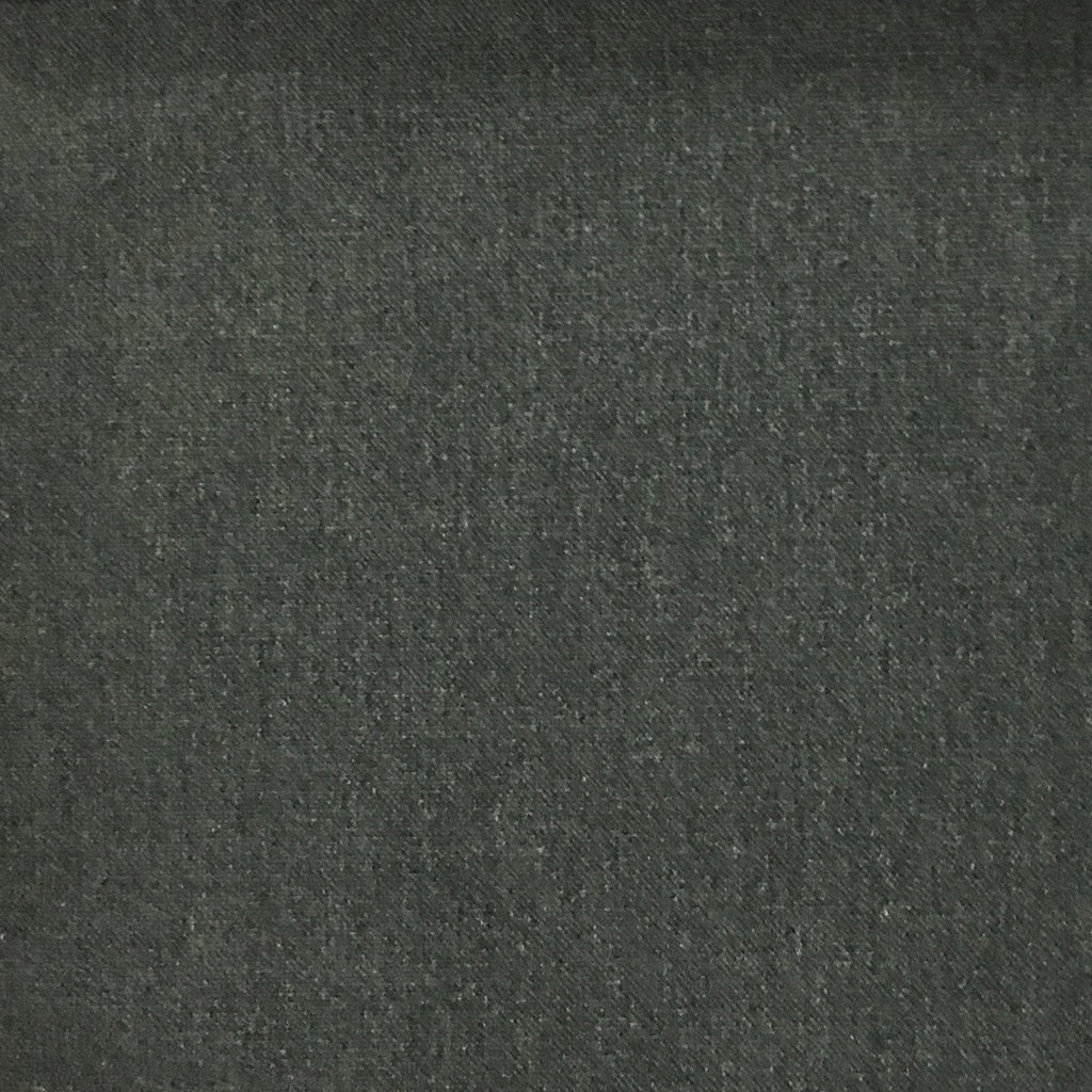 Aston - Cotton Polyester Blend Upholstery Fabric by the Yard - Available in 17 Colors - Charcoal - Top Fabric - 11