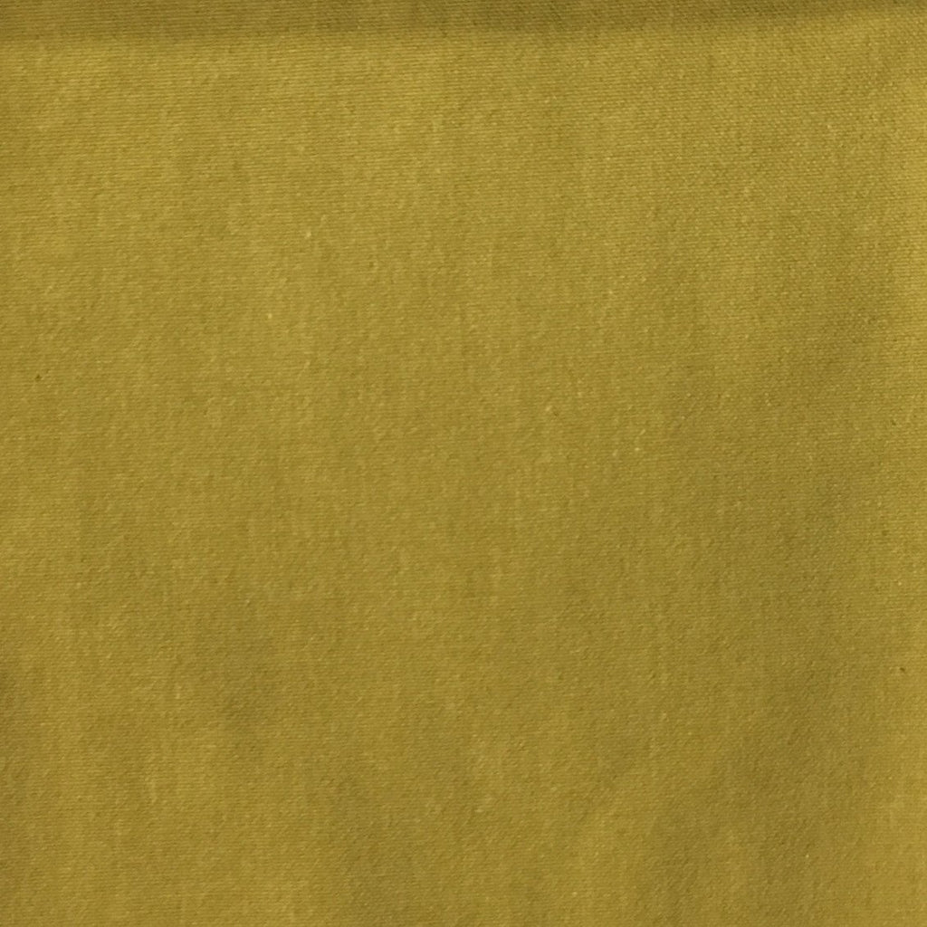 Aston - Cotton Polyester Blend Upholstery Fabric by the Yard - Available in 17 Colors - Citron - Top Fabric - 5