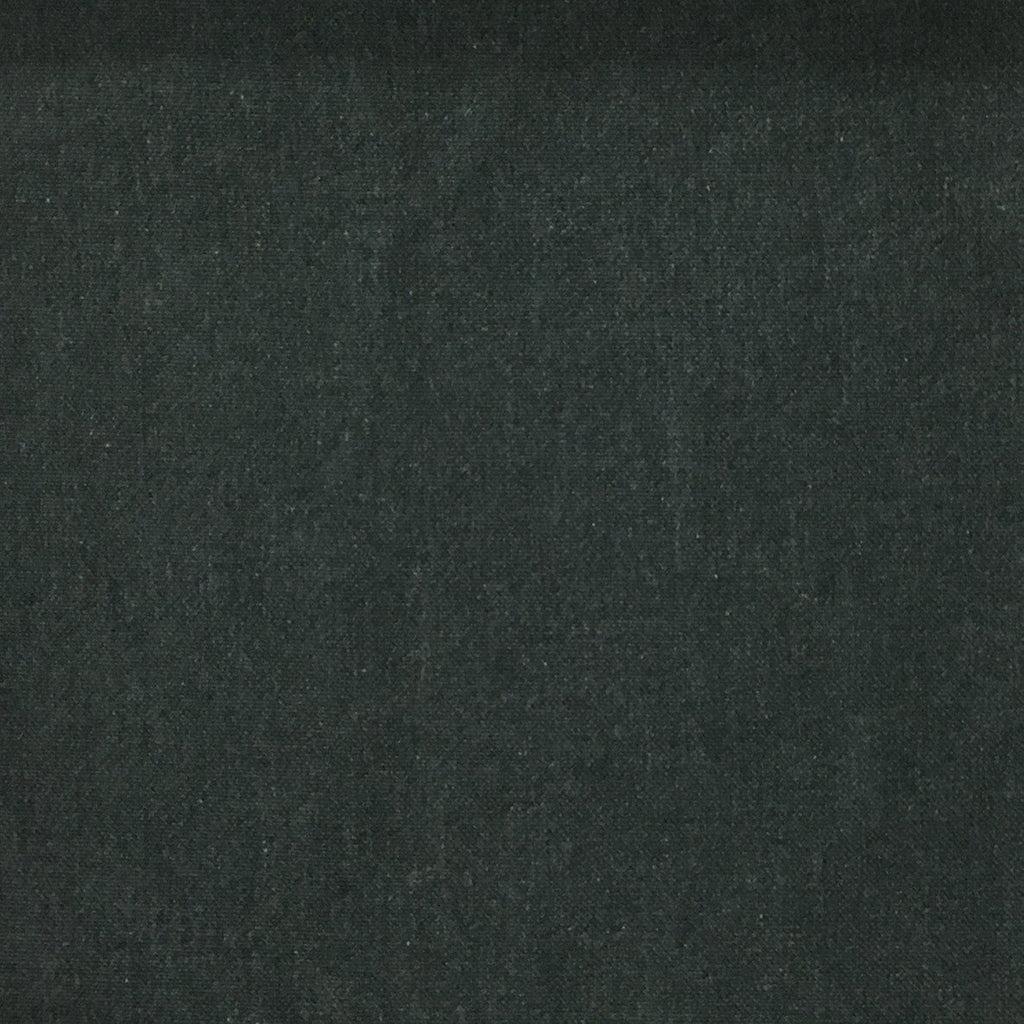 Aston - Cotton Polyester Blend Upholstery Fabric by the Yard - Available in 17 Colors - Midnight - Top Fabric - 10