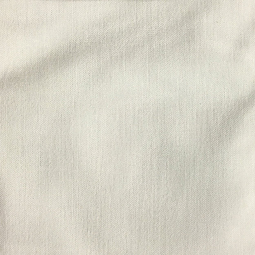 Aston - Cotton Polyester Blend Upholstery Fabric by the Yard - Available in 17 Colors - Pearl - Top Fabric - 1