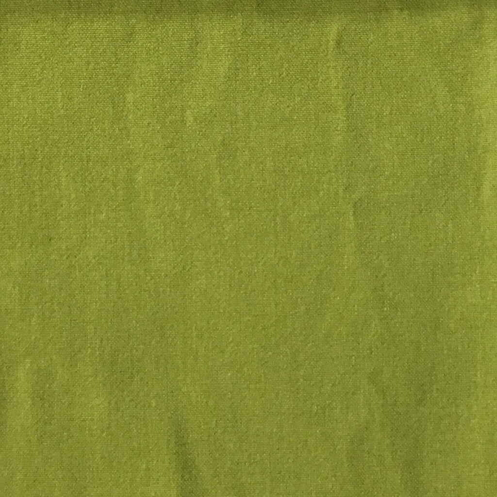 Aston - Cotton Polyester Blend Upholstery Fabric by the Yard - Available in 17 Colors - Wasabi - Top Fabric - 4