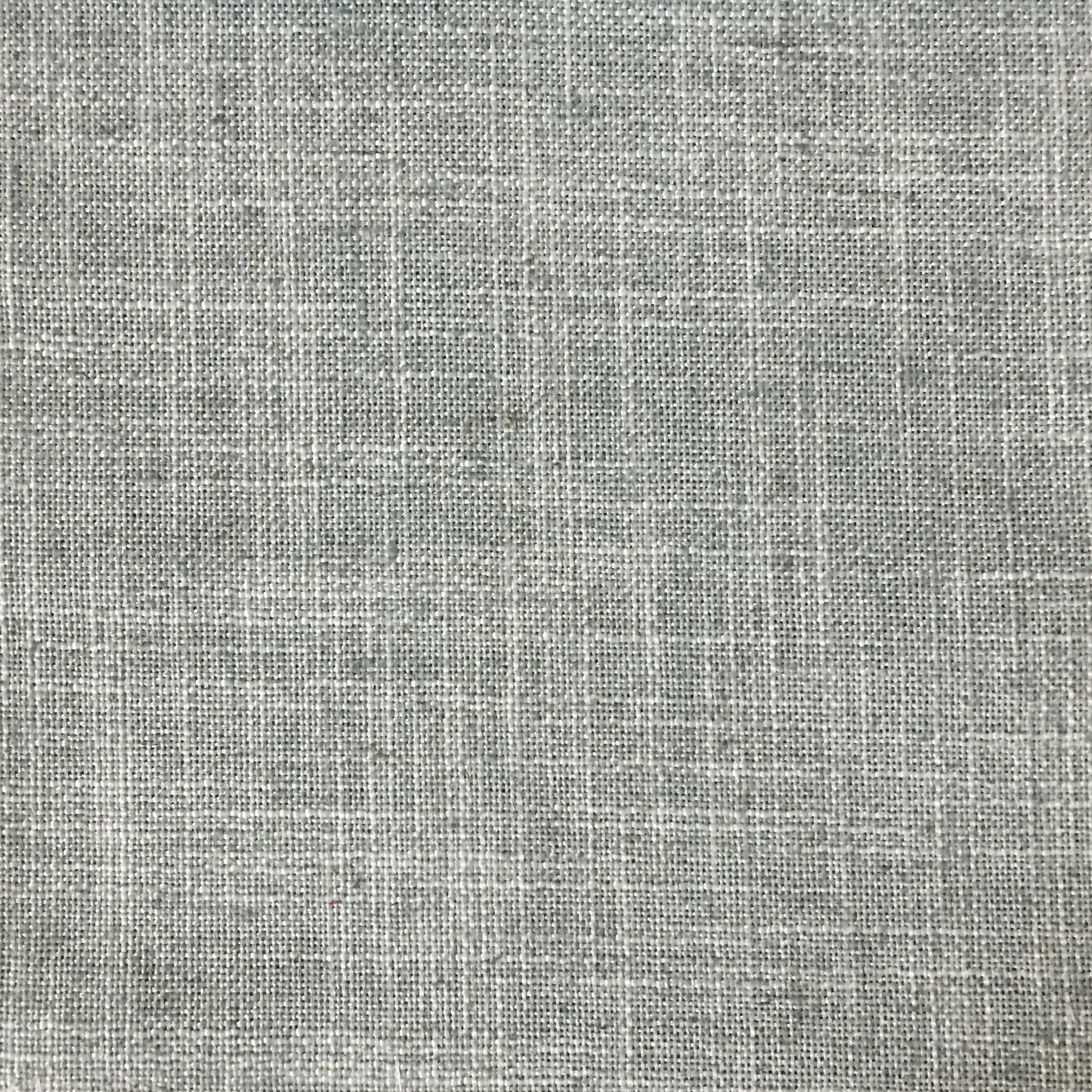 Linen Polyester Blend Burlap Upholstery Fabric By