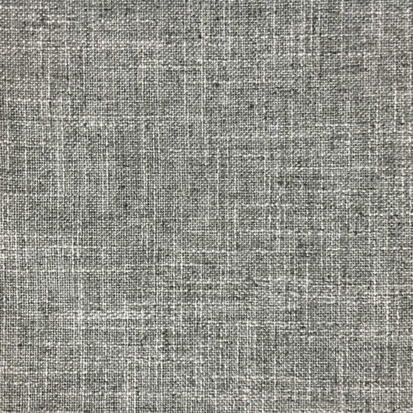 Blake - Linen Polyester Blend Burlap Upholstery Fabric by the Yard - Available in 30 Colors - Pumice w/ Backing - Top Fabric - 1