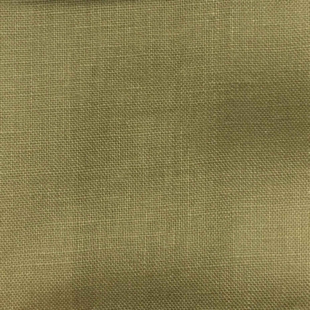 Brighton - 100% Linen Fabric Window Curtain & Drapery Fabric by the Yard - Available in 48 Colors - Burlap - Top Fabric - 27